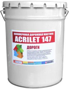 Цветная мастика Acrilet 147 для дорожек